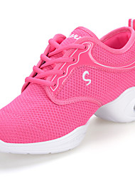 Women's Athletic Shoes PU Spring Summer Low Heel White Black Ruby Under 1in