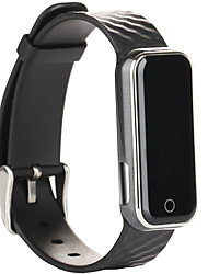 Women's Men's Bluetooth 4.0 Smart Band Heart rate Monitor Smartband SMS / Call Remind Sport Bracelet Clock Wristband