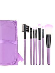 Cepillo para Colorete Pincel para Sombra de Ojos Pincel Delineador Cepillo de Cejas Cepillo de Teñir Cepillo para Polvos Esponja