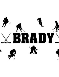 Wall Stickers Wall Decas Style Ice Hockey Movement PVC Wall Stickers