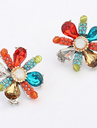 Women's Stud Earrings Drop Earrings Hoop Earrings Imitation DiamondBasic Unique Design Logo Style Geometric Friendship Religious Jewelry