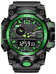 Муж. Модные часы Цифровой Pезина Группа Черный