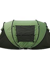 3 a 4 Personas Tienda Doble Tienda pop up para Camping Viaje CM Una Habitación