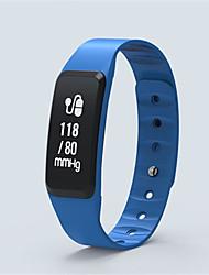 Mulheres Relógio de Moda Digital Silicone Banda Azul Vermelho