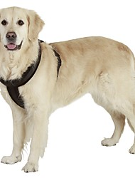 Harness Reflective Portable Breathable Adjustable Safety Solid Nylon for Large Dogs