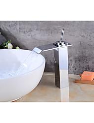 Set de centre Jet pluie 1 trou for  Plaqué , Robinet lavabo