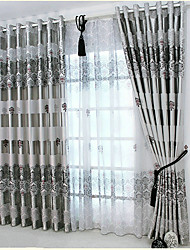 Curtain Flower Living Room Material Blackout Curtains Drapes Home Decoration For Window