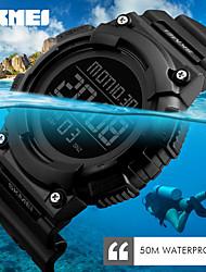 SKMEI Unisex Sport Watch Digital Watch Japanese Digital Calendar Water Resistant / Water Proof Dual Time Zones Alarm Stopwatch Noctilucent
