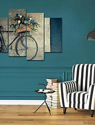 Художественная печать Натюрморт Modern,4 панели Горизонтальная Печать Искусство Декор стены For Украшение дома