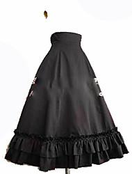 Jupe Gothique Princesse Cosplay Vêtrements Lolita Mode Mollet Jupe Pour