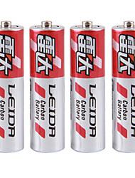 Bateria de pilha seca de zinco leida aaa carda 1.5v 40 pack