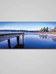 Impression sur Toile Paysage Moderne,Un Panneau Toile Horizontale Imprimer Art Décoration murale For Décoration d'intérieur