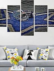 Художественная печать Абстракция Modern,5 панелей Горизонтальная Пигментная печать Декор стены For Украшение дома