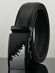 Men's Genuine Leather Waist Belt Fashion/Business/Dress/Casual Light Brown Belts