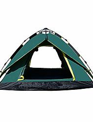 3 a 4 Personas Tienda Doble Carpa para camping Una Habitación Tienda pop up A Prueba de Humedad Impermeable Resistente a la lluvia para