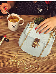 Women Tote PU All Seasons Professioanl Use Baguette Zipper Blushing Pink White Blue