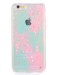 For Apple iPhone7 7Plus Case Cover Pattern Back Cover Case Color Gradient Glitter Shine Soft TPU 6s plus 6 plus 6s 6