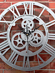Modern/Contemporary Office/Business Music Family School/Graduation Friends Wall Clock,Novelty Metal Others Indoor Clock