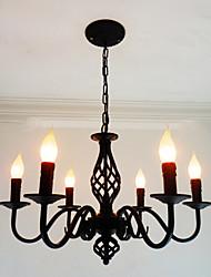 Люстры и лампы ,  Художественный Изысканный и современный Прочее Особенность for Свеча Стиль Металл Гостиная В помещении Столовая6