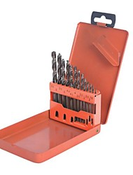 Steel Shield Twist Drill 13 Piece Set Cobalt High Speed Steel Straight Shank Drill Set /1 Set