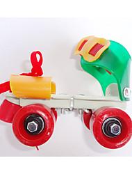 Kinder Inline-Skates Blau/Grün/Rote/Pfirsich
