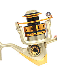 Anmuka Fishing Reel Spinning Reels 5.11 10 Ball Bearings ExchangableSea Fishing Fly Fishing Bait Casting Ice Fishing Spinning Jigging