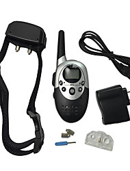 Dog Training Clickers Electronic LED Lights Waterproof Rechargeable Shock/Vibration Electronic/Electric