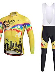 Miloto Maillot de Ciclismo con Mallas Bib Bicicleta Medias/Mallas Largas Pecheros/Mallas Largas Con Tirantes/Corsario Tirantes