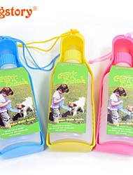 Portable 300ml Travel Pet Water Bottle Fashion Pet Cat Dog Kettle Travel Dog Bowls