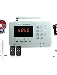 433MHz SMS Phone Remote Controller  Panel  Keyboard 433MHz GSM SMS Alarm Sound Alarm Home Alarm Systems