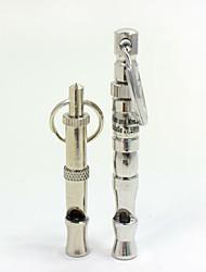 High Quality Interactive Dog Toys Pet Dog Whistle Ultrasonic Adjustable Sound Key Training Tool Pet Training Products