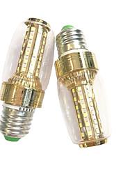 7W E14 E27 LED a pannocchia 60 SMD 2835 600 lm Bianco caldo Bianco AC 220-240 V 2 pezzi