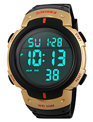 SKMEI® 1068  Men's Woman Solar ElectronicWatches Outdoor Sports Waterproof Sports Electronic Watches 50 Meters Waterproof