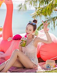 Women's Bikini Polyester Solid
