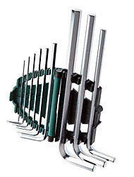 Star Extended Inner Six Angle Wrench Set 9 Sets Of /1 Sets