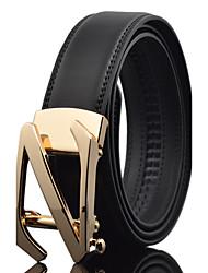 Masculino Trabalho Casual Casamento Cintos Liga Couro Fashion Cinto para a Cintura,Sólido