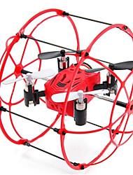 Drone M66 Canal 4 - Vôo Invertido 360° Quadcóptero RC Cabo USB Hélices Chave de Fenda