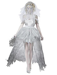 Avenger Zombie Bride Weddng Dress Women's Halloween Costume