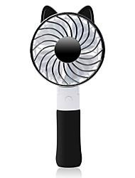 Ventilador de carregamento do mini ventilador de mão dobrável / terceira velocidade