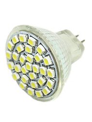 2w g4 gu4 (mr11) gz4 proyector led mr11 30 smd 3528 140-180 lm blanco caliente dc 12 v
