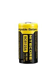 2PCS NITECORE NL166 650mAh 3.7V 2.4Wh 18650 Li-ion Rechargeable Battery