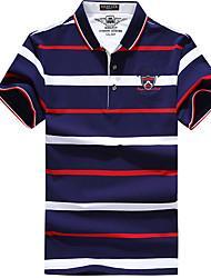 Homme Tee-shirt de Randonnée Cyclisme Tee-shirt pour Course Toutes les Saisons M L