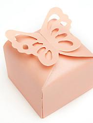 12 Stück / Set Geschenke Halter-Quader Perlenpapier Geschenkboxen Nicht personalisiert