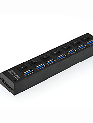7 Port usb 3.0 High Speed ​​Hub mit Schalter