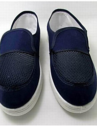 Women's Flats Comfort Canvas Spring Casual Navy Blue Flat