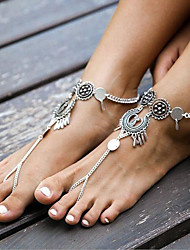 Speed Sell Tong Best-selling Europe And The United States Foreign Trade Fashion Jewelry  on Drops Tassel New Anklets Ring Foot