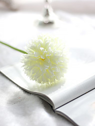 Single Head Small Colorful Silk Balls And Ball Simulation Flowers Household Green Silk Flower Export Fake Wedding