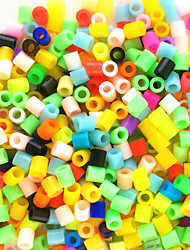 Approx 600PCS/Bag 5MM Mixed Random Multi-Color Hama Perler Bead Fuse Beads Kids DIY Handmaking Educational Craft Toys Jigsaw Puzzle EVA Safty Material