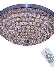 Remote control crystal ceiling light Modern k9 Crystal Ceiling Lamp Bedroom