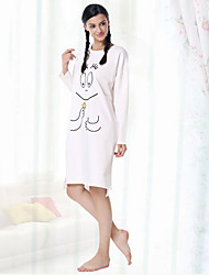 Women's Robes Nightwear Pattern-Medium